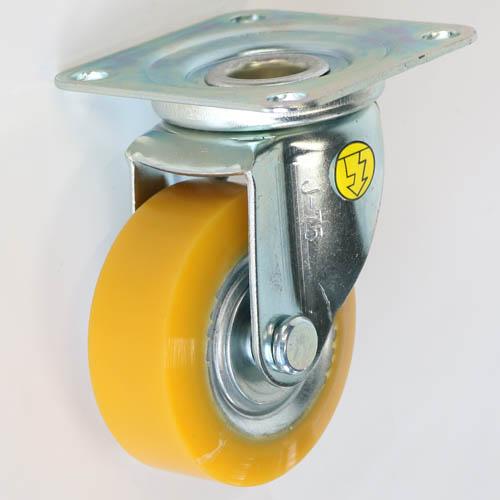 静電気帯電防止キャスタ制電性EUW車輪