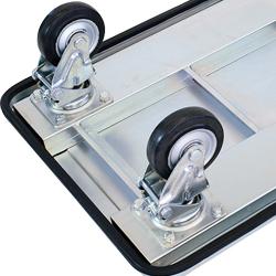 運搬台車 (スチール製鋼板補強ボディ)鋼板補強ボディ