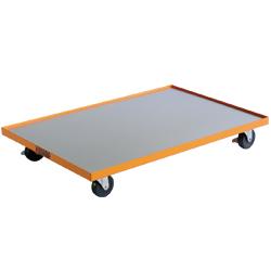 ドーリーカート(ばんじゅう運搬台車) (スチール製・ステンレス製・ステンレス製)ハニカム材質タイプ