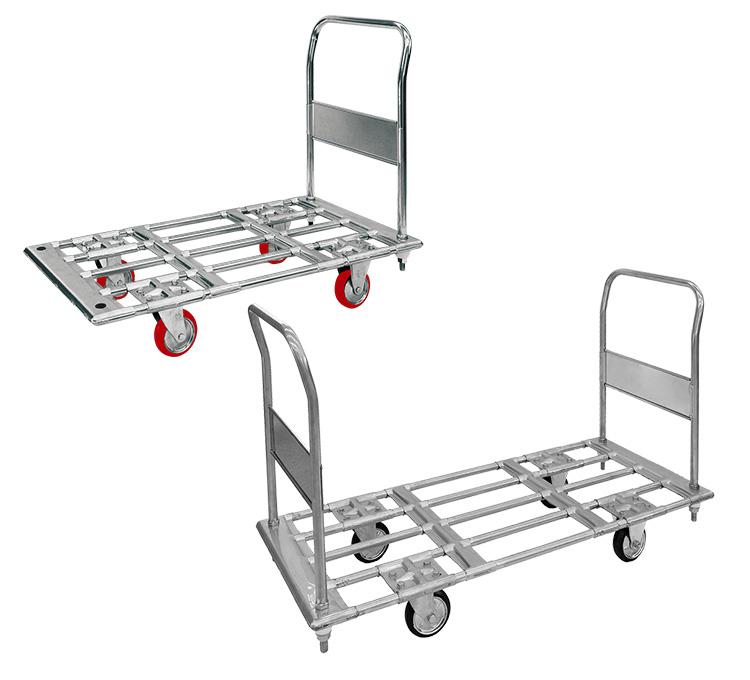 パイプ材仕様運搬台車