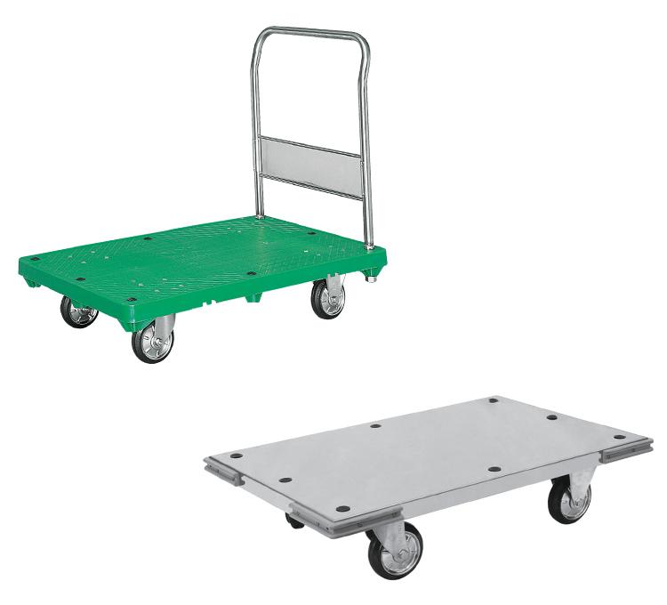 運搬台車(ステンレス製・プラスチック製ステンレス仕様)