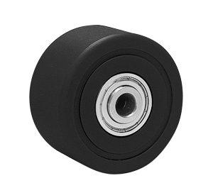 MCMO MCナイロン(ブラック)(ステンレス低床重荷重用)