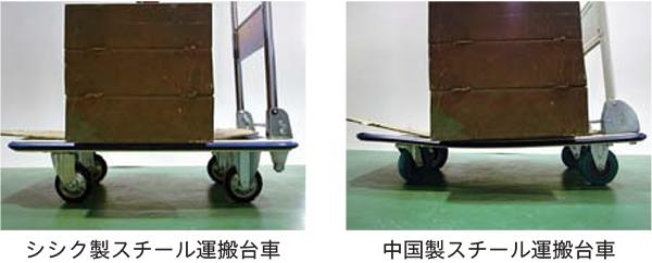 スチール運搬台車の比較